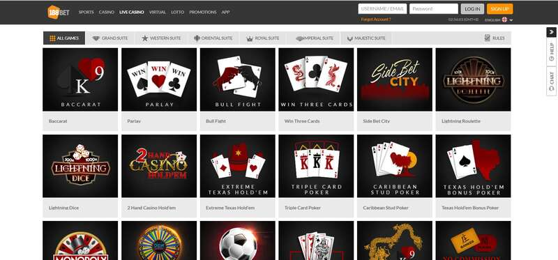 Never Be Out of Choice with 188Bet Slot Game