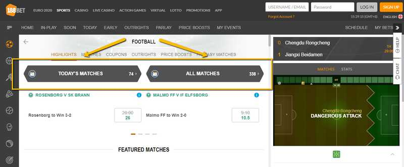 Play Football Bet Gaming at One of the Best Indian Bookies 188BET
