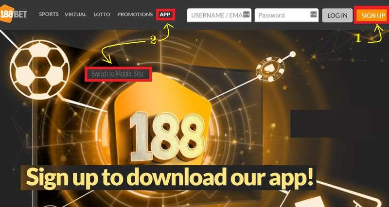 Easy Ways to Download M 188BET WAP