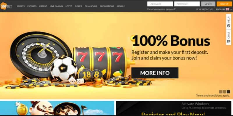 Take Advantage of Bonuses Available at 188BET Club PC and Mobile